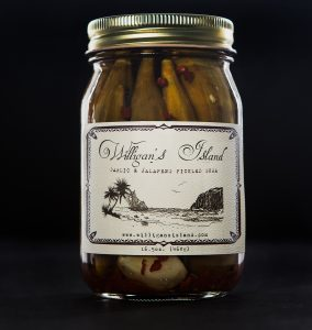 Pickled Jalapeno Garlic Okra
