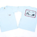 Island Time Baby Blue Okra T- shirt