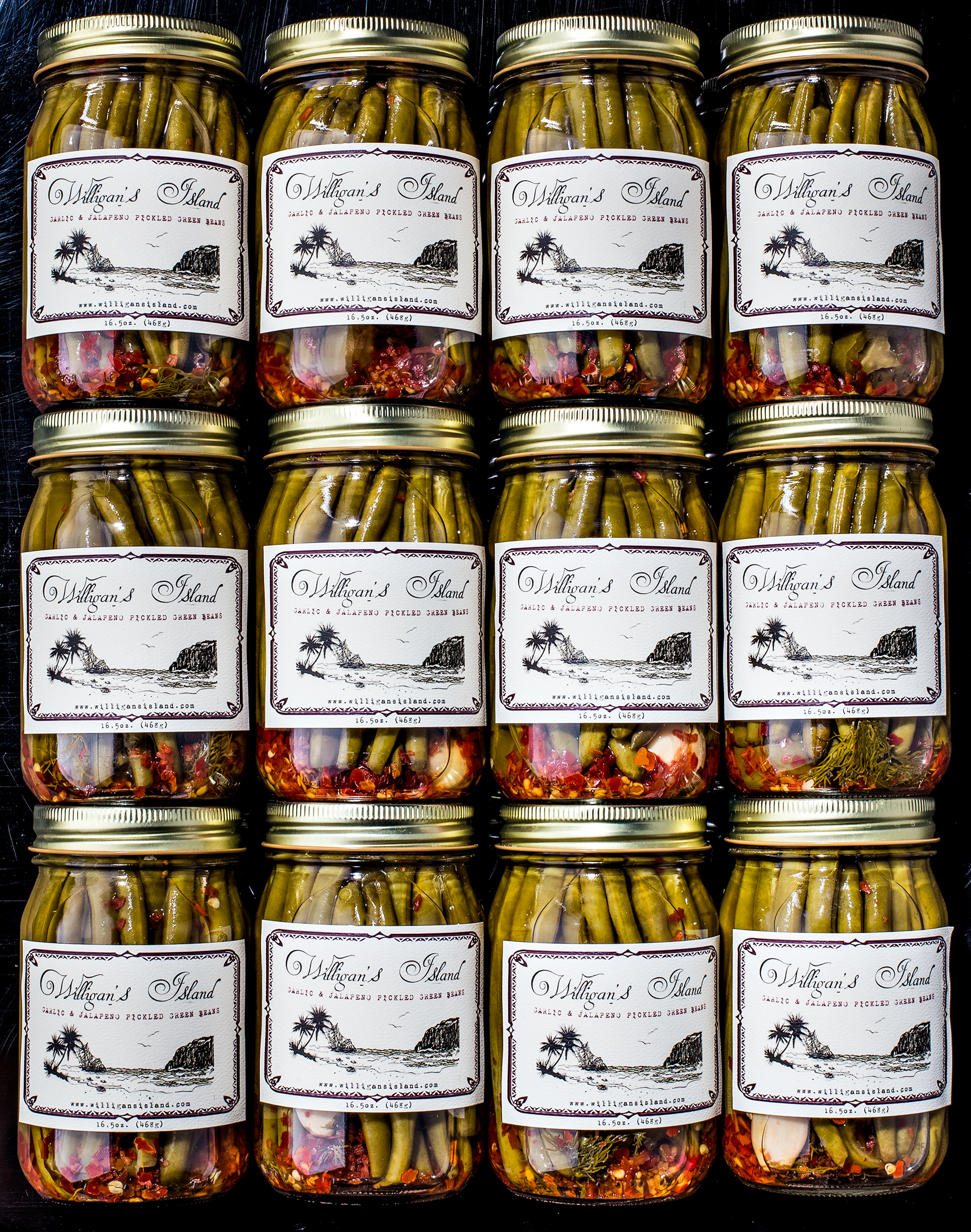 Stacked Jars