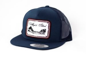 Willigan's Island Navy Blue Trucker Hat