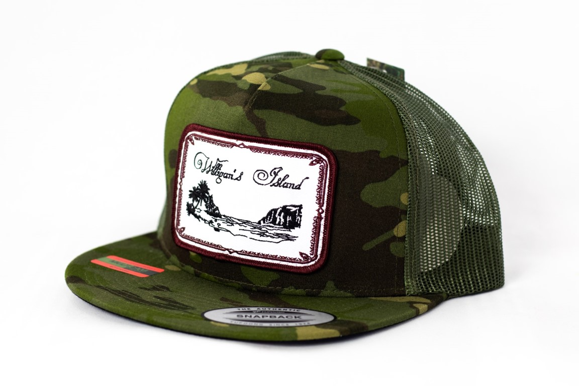 Willigan's Island Green Beans Camo Hat